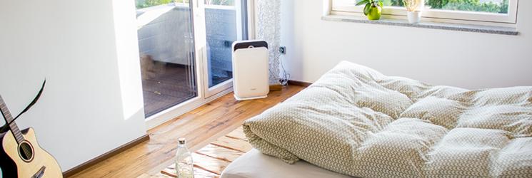 Integrierter SLEEP-Modus für einen erholsamen Schlaf - nur 16 dB (A)