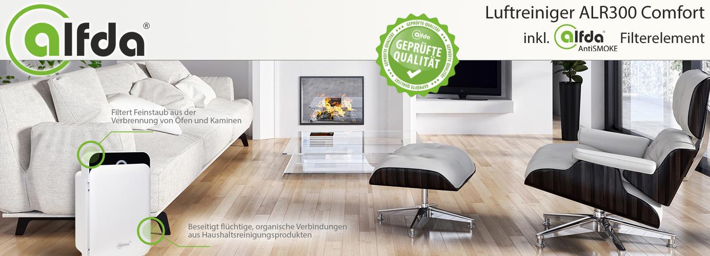 hepa luftreiniger alfda alr300 comfort gegen. Black Bedroom Furniture Sets. Home Design Ideas