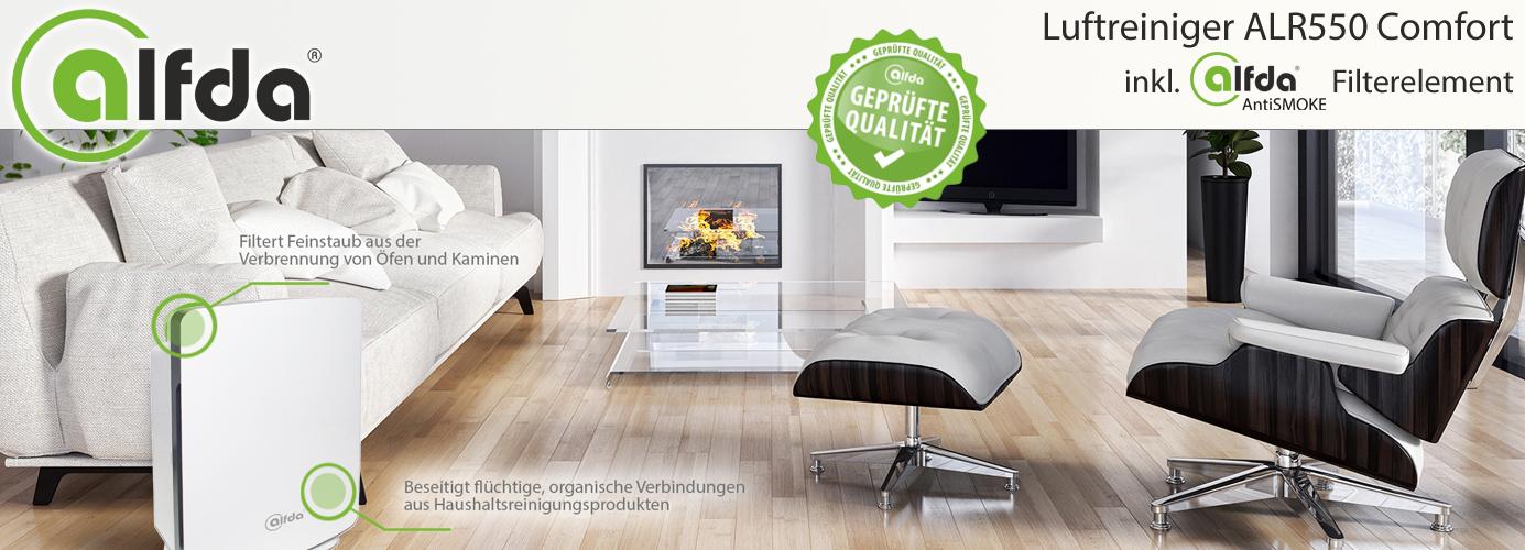 hepa luftreiniger alfda alr550 comfort gegen. Black Bedroom Furniture Sets. Home Design Ideas