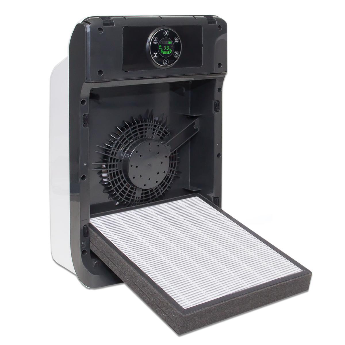 sehr leiser hepa luftreiniger alfda alr160 mit alfdacleanair filter himop. Black Bedroom Furniture Sets. Home Design Ideas